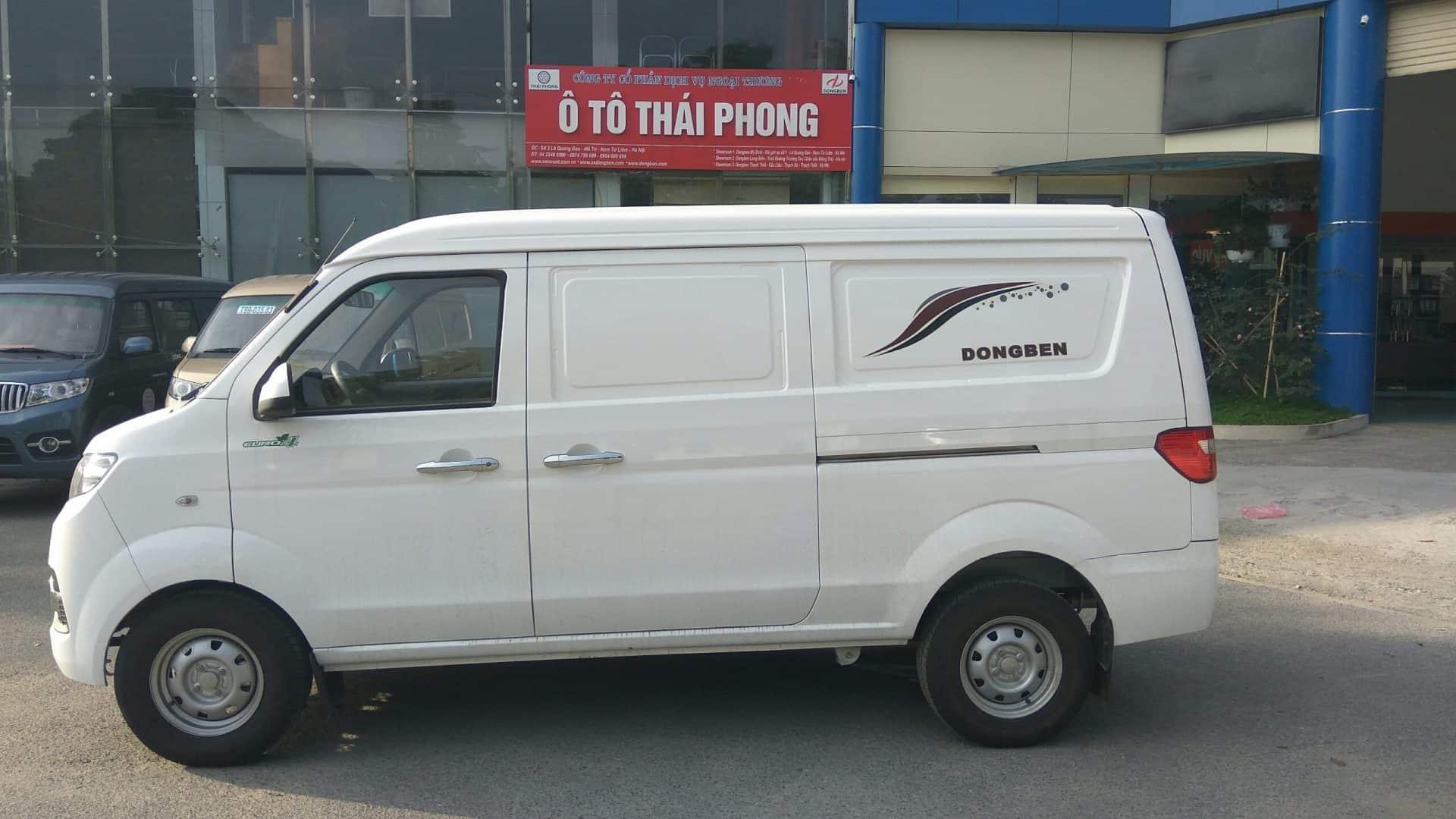 Xe ô tô tải Van Dongben DBX30-V2s, 02 chỗ ngồi, tải trọng 950kg
