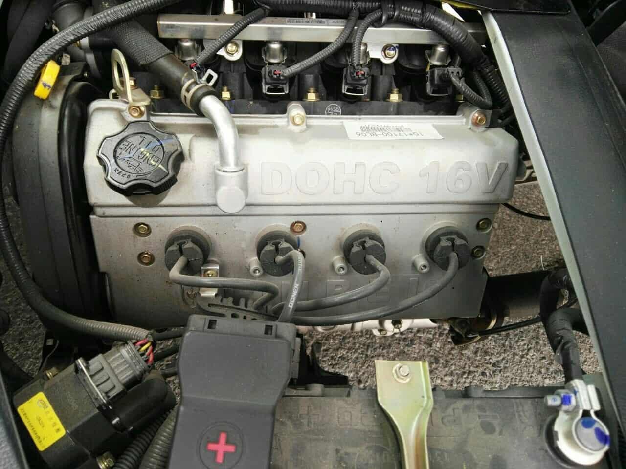 Xe tải DONGBEN DBT30/KM, thùng khung mui Inox 201, tải trọng 990kg