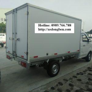 Xe tải DONGBEN DBT30/TK-01, thùng kín Inox, Compersit, tải trọng 990kg